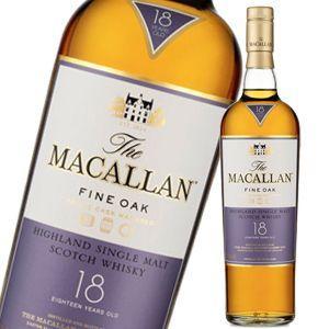 ザ マッカラン18年ファインオーク 並行品  700ml liquorsbest