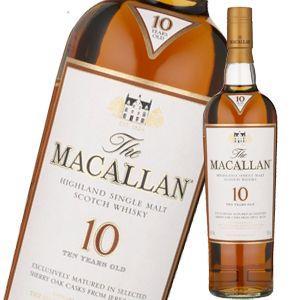 ザ マッカラン10年 シェリー  700ml 並行品 liquorsbest