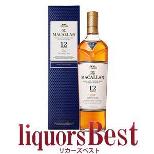 マッカラン 12年 ダブルカスク 40度 700ml 正規箱付|liquorsbest