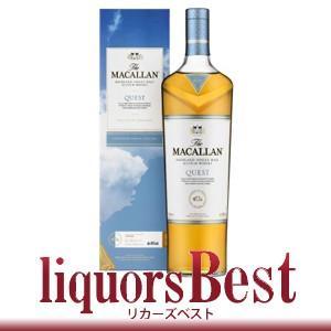 ウイスキー ザ・マッカラン クエスト (Macallan Quest) 40度 700ml 並行品 ...
