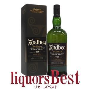 アードベッグ 10年 並行品  1000ml箱入りリッターボトル特集|liquorsbest