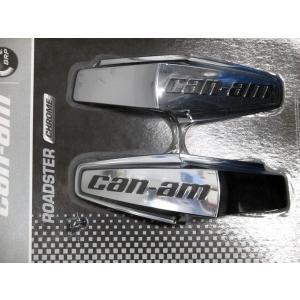 BRP CAN-AM SPYDER RT用 Can-am のクローム サイドトリム |lirica-store