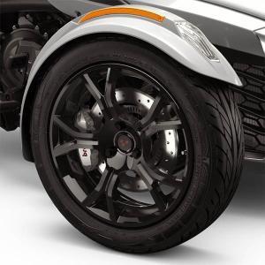 純正オプション F3-LTD 2019US仕様 ブラック Fホイール SPYDER F3 RT用|lirica-store