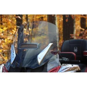 Spyder RTシリーズ用 ストックスクリーン 開閉ベント付き F4CUSTOM製  lirica-store