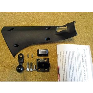 Can-Am SPYDER RT左ハンドル用ラムマウントkit  ISCI製|lirica-store
