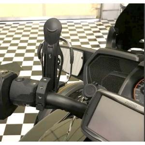 Can-Am SPYDER F3用 ドリンク&マルチホール ホルダー |lirica-store