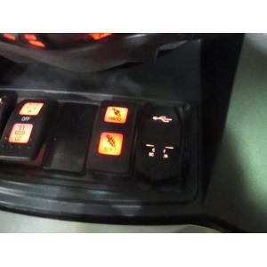Can-Am SPYDER RT用 発光色アンバー USBソケット 〜2019年モデル用|lirica-store
