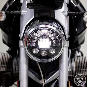 BMW R1200R LED Headlight Upgrade ADAPTIV(照射範囲可変)LEDヘッドライト コンバージョンキット MOTODEMIC lirica-store
