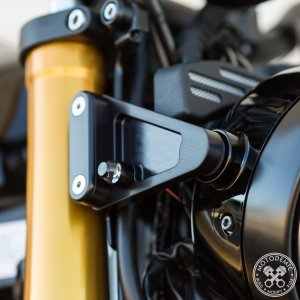XSR900 HEADLIGHT SIDE BRACKETS MOTODEMIC |lirica-store