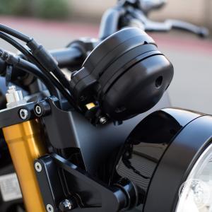 XSR900 メーター・リロケーションキット メーターカバー付き MOTODEMIC |lirica-store