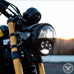 XSR900 7 inch   EvoS LEDヘッドライト コンバージョンキット MOTODEMIC|lirica-store