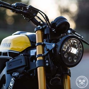 XSR900 7 inch ADAPTIVE(照射範囲可変)ヘッドライト コンバージョンキット MOTODEMIC|lirica-store