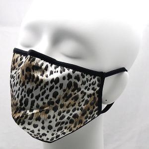 コットンクラブ  おしゃれマスク 予防 シルク アニマルプリント イタリア製 当商品はクリックポスト対応、送料無料でお送りします。|lisecharmel
