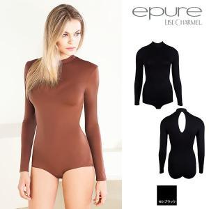 エピュール 定番商品 ブラック epure ボディシャツ 品番PLP5901 インポート ランジェリー|lisecharmel