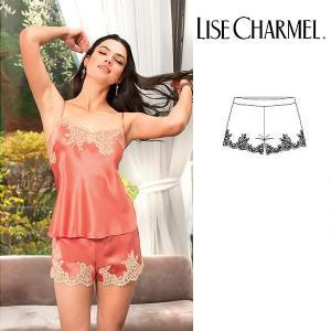 リズシャルメル LISE CHARMEL フレアショーツ シルクサテン 品番ALC0186  インポートランジェリー|lisecharmel