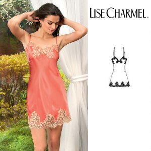 リズシャルメル LISE CHARMEL スリップ シルクサテン 品番ALC1086 インポートランジェリー|lisecharmel