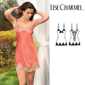 リズシャルメル LISE CHARMEL ベビードール シルクサテン 品番ALC1786 インポートランジェリー|lisecharmel