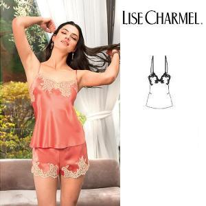 リズシャルメル LISE CHARMEL キャミソール シルクサテン 品番ALC4286 インポートランジェリー|lisecharmel
