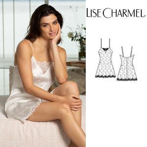 リズシャルメル 2020春夏最新作 LISE CHARMEL スリップ シルク 品番ALG1032 インポートランジェリー|lisecharmel