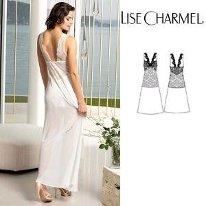 リズシャルメル 2020春夏最新作 LISE CHARMEL ロングスリップ ナイティ 品番ALG1132 インポートランジェリー|lisecharmel