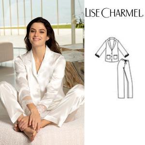 リズシャルメル 2020春夏最新作 LISE CHARMEL パジャマ シルク 品番ALG3032 インポートランジェリー|lisecharmel