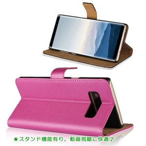 リサイクルレザー Samsung Galaxy Note8 ケース SC-01K/SCV37 兼用 ギャラクシーノート8 galaxy note8 ケース 収納 カードいれ 手帳型カバー 手帳型ケース|lit|03