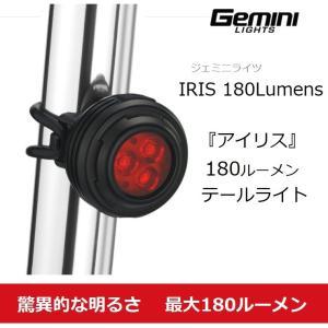 Gemini Lights(ジェミニ)最強180ルーメン LEDテールライト LED自転車ライト 自転車ライト 充電式ライト バックライト ヘルメットライトバック 自転|liten-up