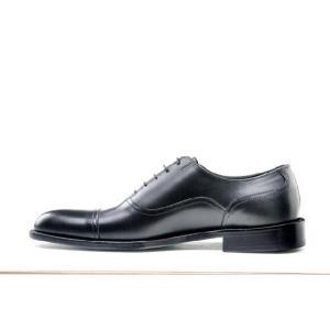 ビジネスシューズ 本革 大きいサイズ 紳士靴 滑り止め 革底 革靴 冠婚葬祭 結婚式 マナー 2010125DKBK|little-globe|02