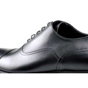 ビジネスシューズ 本革 大きいサイズ 紳士靴 滑り止め 革底 革靴 冠婚葬祭 結婚式 マナー 2010125DKBK|little-globe|05