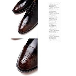 本革 ビジネスシューズ ストレートチップ メダリオン 紳士靴 靴 fa1111p|little-globe|04