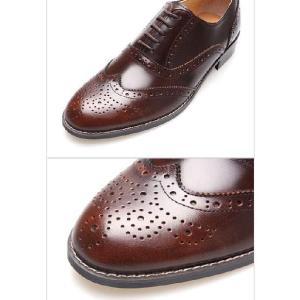 ビジネスシューズ ウイングチップ メダリオン 紳士靴 靴 ウィングチップ fa1117|little-globe|04