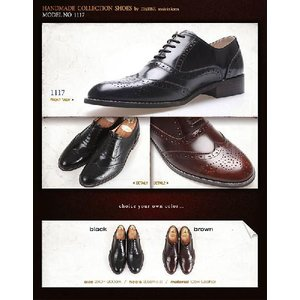 ビジネスシューズ ウイングチップ メダリオン 紳士靴 靴 ウィングチップ fa1117|little-globe|06
