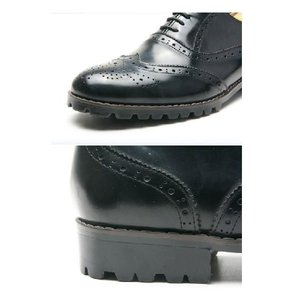 本革 ウイングチップ ラバーソール 靴 ビジネスシューズ ウィングチップ fa1119|little-globe|02