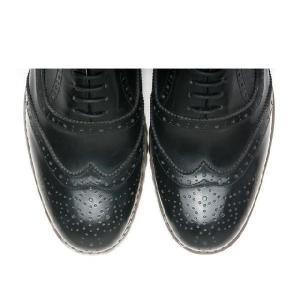 本革 ウイングチップ ラバーソール 靴 ビジネスシューズ ウィングチップ fa1119|little-globe|03