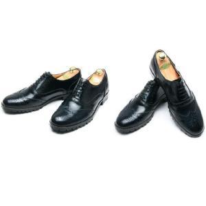 本革 ウイングチップ ラバーソール 靴 ビジネスシューズ ウィングチップ fa1119|little-globe|04