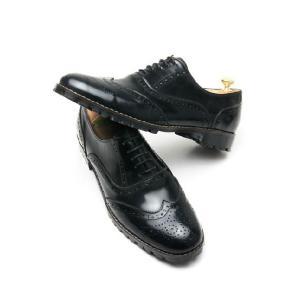 本革 ウイングチップ ラバーソール 靴 ビジネスシューズ ウィングチップ fa1119|little-globe|05