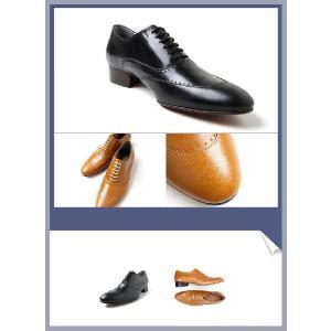 本革 ユーチップ 紳士靴 甲高 幅広 Uチップ 靴 ビジネスシューズ fa1123|little-globe|03