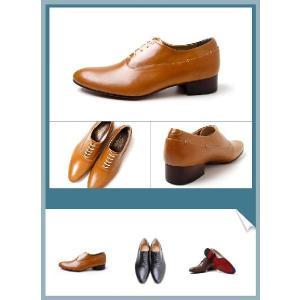 ビジネスシューズ 内羽根 プレーントゥ カジュアル 紳士靴 靴 fa1124|little-globe|03