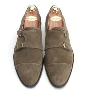 本革 紳士靴 ダブルモンク カラーバリエーション 靴 スウェード スエード fa2022s|little-globe|02