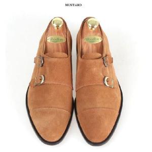 本革 紳士靴 ダブルモンク カラーバリエーション 靴 スウェード スエード fa2022s|little-globe|05