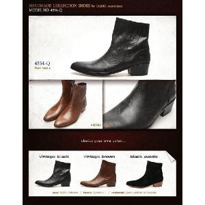 ブーツ アンクル ショート エンジニア メンズ 大きい靴 小さいサイズ 24cm 24.5センチ 28.5cm 28センチ 靴 ワークブーツ fa4554q|little-globe|06