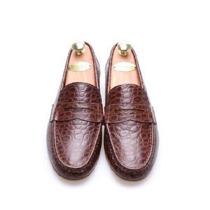 モカシン 本革ローファー 柔らかくて軽い紳士靴 カジュアルスタイル 靴 fa4700cl|little-globe|02