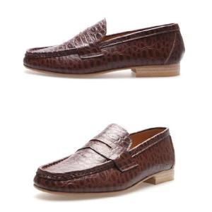 モカシン 本革ローファー 柔らかくて軽い紳士靴 カジュアルスタイル 靴 fa4700cl|little-globe|03