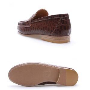 モカシン 本革ローファー 柔らかくて軽い紳士靴 カジュアルスタイル 靴 fa4700cl|little-globe|04