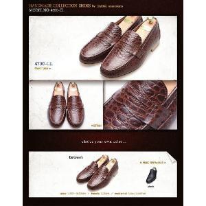 モカシン 本革ローファー 柔らかくて軽い紳士靴 カジュアルスタイル 靴 fa4700cl|little-globe|06