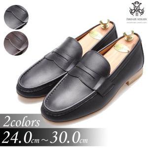 本革ローファー 紳士靴 モカシン カジュアルスタイル 靴 fa4700l|little-globe