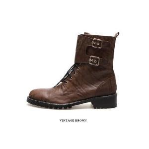 エンジニアブーツ ブーツ バックル取り外し可能 2way ショート ミドル メンズブーツ ハイヒール 靴 ワークブーツ fa4702q|little-globe|05