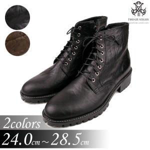 ブーツ アンクル ショート エンジニア メンズ 大きい靴 小さいサイズ 24cm 24.5センチ 28.5cm 28センチ 靴 ワークブーツ fa4775q|little-globe