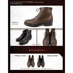 ブーツ アンクル ショート エンジニア メンズ 大きい靴 小さいサイズ 24cm 24.5センチ 28.5cm 28センチ 靴 ワークブーツ fa4775q|little-globe|02