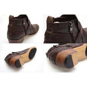 ブーツ メンズ アンクル ショート バックル ヒール高 靴 fa4776q|little-globe|05